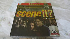 Twilight Scene It? Deluxe Edition - Brand New Sealed - Dvd Movie Board Game