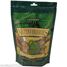 NEW SIZE: LAFEBER NUTRIBERRIES TROPICAL FRUIT 300G-PARROT FOOD / ULTIMATE TREAT