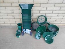 HAVE IT ALL 41pc MINI/ LARGE CLASSIFIER, SLUICE BOX, GREEN GOLD PAN PANNING KIT