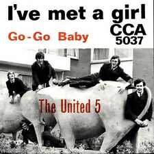 CCA 5037, The United 5 - Rare German Beat Single - 1967 - MINT