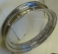 "36-up 3"" x 16"" Drop Center Chrome RIM 40 Spoke Knucklehead Panhead Shovelhead"