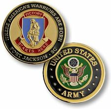 U.S. Army - Fort Jackson, SC Challenge Coin