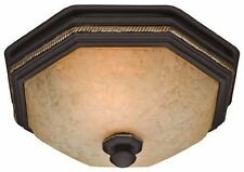 Hunter 82023 Ventilation Belle Meade Bathroom Exhaust Fan and Light with Hand...