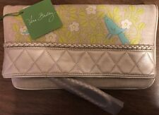 Vera Bradley Retired Limited Edition Sunset Clutch Wristlet Sittin' in a Tree