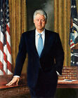 Nice Oil painting PRESIDENT of America - Bill Clinton on canvas