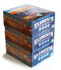 3 boxes ELEMENTS Slim King Size ULTRA THIN RICE rolling paper - 150 booklets