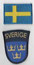 TALIZOMBIE© WHACKER NATO WAR TROPHY SWEDEN hook/loop SSI: Swedish Army + Flag