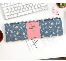 Desk Weekly Note Pad Ver.2 Planner Scheduler Organizer Spring Notebook Scrapbook
