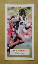 JOHAN CRUYFF-OLANDA-AJAX-la Aztechi-punteggio UK TRADE card
