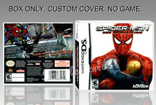 NINTENDO DS : SPIDERMAN WEB OF SHADOWS. ENGLISH. COVER + ORIGINAL BOX. (NO GAME)