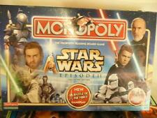 MONOPOLY STAR WARS EPISODE II COLLECTOR EDITION COMPLETE -FREEPOST UK