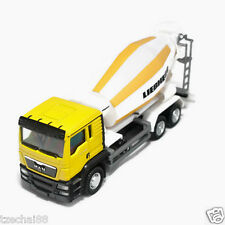 RMZ City 1:64 DIECAST MAN Liebherr Cement Mixer Truck Yellow Model COLLECTION