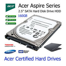 "160GB Acer Aspire 5935 2.5"" SATA Laptop Hard Disk Drive HDD Upgrade Replacement"