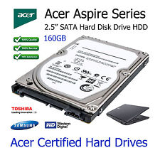 "160GB Acer Aspire 5100 2.5"" sata ordinateur portable disque dur hdd upgrade replacement"
