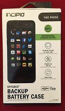 Incipio offGRID Backup Battery Case Black for Amazon Fire Phone - Retail $90