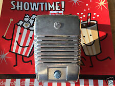 Single New RCA Drive-In Movie Car Show Prop Speaker Casting Set With Blue Knobs
