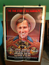 DEATH DRIVER-EARL OWENSBY(THE REX RANDOLPH STORY)-1970'S-ORIGINAL MOVIE POSTER