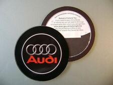Magnetic Tax disc holder fits any audi a1 a2 a3 a4 a5 a7 a8 q5 q7 tt  rs4 reda