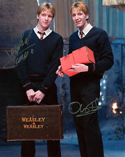 James & Oliver Phelps - The Weasleys - Harry Potter - Signed Autograph REPRINT