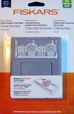 Fiskars SWEET TREATS Cupcakes AdvantEdge Continuous BORDER PUNCH Cartridge NEW