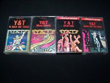Cassette Y&T 4 Hair Metal lot tapes Rock Trust Mean Streak Open Fire Down Count