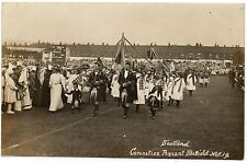 P.C Scotland Coronation Pageant Sheffield South Yorkshire R P Excellent Cond