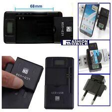 Cargador de baterias (pared) universal para baterias desde 31 a 65mm ancho NEW S