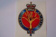 "2 X  WELSH GUARDS  REGIMENT  STICKERS  4"" BRITISH ARMY  MILITARY INSIGNIA"