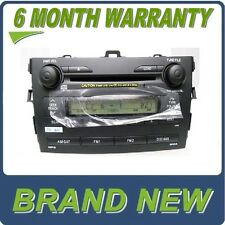 NEW TOYOTA Corolla AM FM Satellite Radio 6 Disc Changer MP3 CD Player OEM A518A3