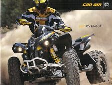 Can-Am ATV 2008-09 UK Market Sales Brochure Outlander Renegade DS 450 250