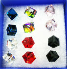Wholesale Lot 12Pcs Women Lady Charming Rhinestone Crystal Ear Stud Earrings E04