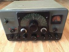 Johnson Viking Ranger Ham Radio Transmitter For Parts Or Repair Vintage Com