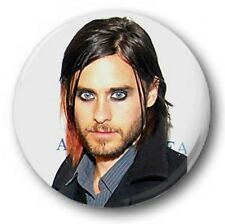 "Jared Leto Emo - 25mm 1"" Button Badge - 30 Seconds to Mars, The Kill, Capricorn"