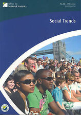 Social Trends (38th Edition) The Office for National Statistics Very Good Book