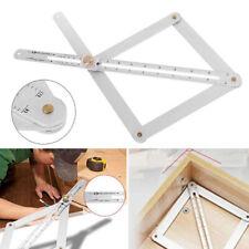 1x Goniometer Angle Finder Miter Gauge Arm Measure J3X9 Protractor Ruler Pl I0H3