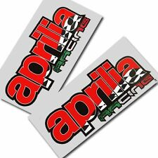 Aprilia racing Motorcycle graphics stickers decals x 2PCS Style 001
