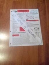 FICHE TECHNIQUE AUTOMOBILE RTA VOLKSWAGEN LT COMBI 2.3 i (CL 15)