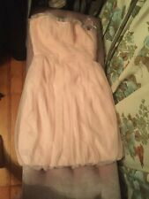 NWOT pink Ballerina Vera Wang Dress Size 12 Wedding Tulle