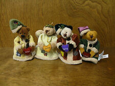 Ganz Cottage Collectibles CC11151 Jingle Bears set of 4 NEW from our Retail Shop