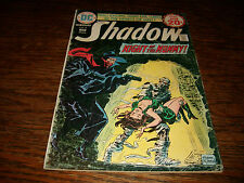 The Shadow #8 Jan 1975 DC comics Ok Cover VG Pages Night of Mummy Margo Lane