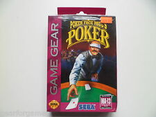SEGA GAME GEAR POKER FACE PAUL'S POKER  BOXED SEALED NEW