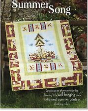 Summer Song Quilt Pattern Pieced PK