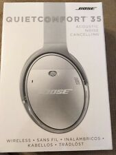 BOSE QC35 Quiet Comfort 35 Silver Wireless Noise Cancelling NEW SEALED GENUINE