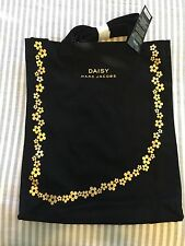 Marc Jacobs Daisy Black Tote Bag New