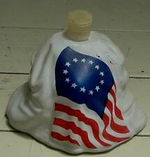 Vintage Partial Avon Betsy Ross Figural Bottle, Bottom Half Only, GD COND