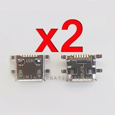 2 X MLS iQTab 3G IQ8123K USB Charger Charging Port Dock Connector Repair Part
