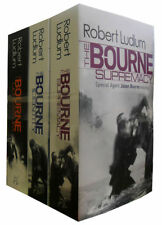 Robert Ludlum The Bourne Trilogy 3 Books Mystery Collection Paperback English