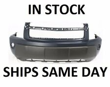 New Primered - Front Bumper Cover Replacement For 2005 2006 Chevy Equinox w/ Fog