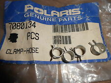 NOS Polaris Hose Clamp 1985-1997 Trail Boss Trail Deluxe Long Track 7080134 QTY4