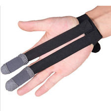 Archery Finger Protector Shoot Bow Hunting Recurve Bow Fabric Fashion